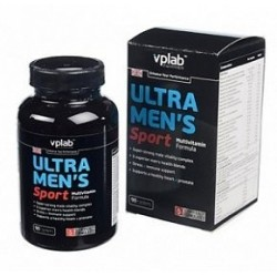 Витамины VP Laboratory Ultra Men's Sport Multivitamin Formula, 90 капс